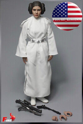 1/6 Princess Leia Head Sculpt Costumes Set STAR WARS For PHICEN Hot Toys ❶USA❶