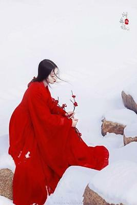 Women's Chinese Style Vintage Classic HanFu Lolita Retro Sweet RuQun Coat Dress