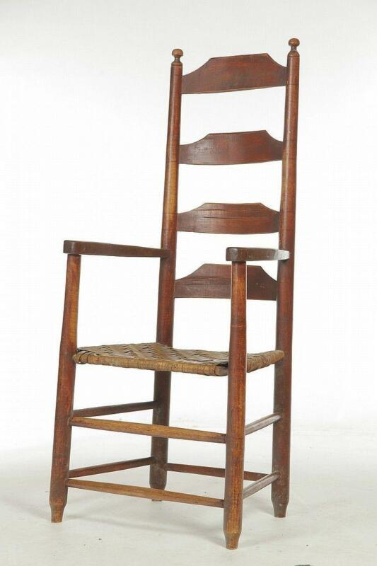 antique ladder back chairs table wwe and stairs
