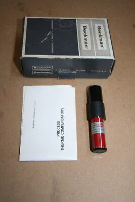 Thermo Compensator Glass Probe 19580 Beckman Unused