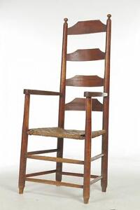 Beau Antique Ladder Back Chairs
