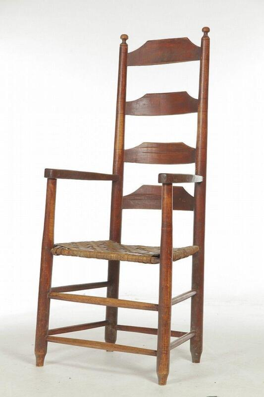 Beau Antique Ladder Back Chairs | EBay