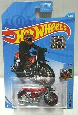 2019 Hot Wheels Moto Tred Shredder Red 38 RLC Set VHTF
