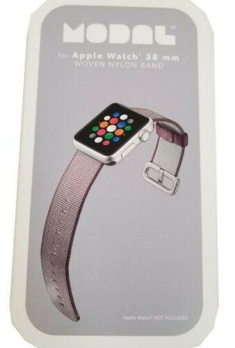 Modal Apple Watch Replacement Purple 38 mm Nylon Woven Band