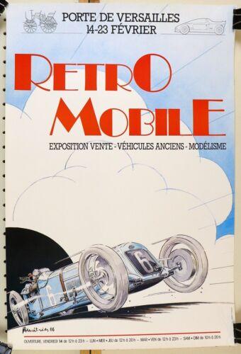 RetroMobile 1986 official event poster