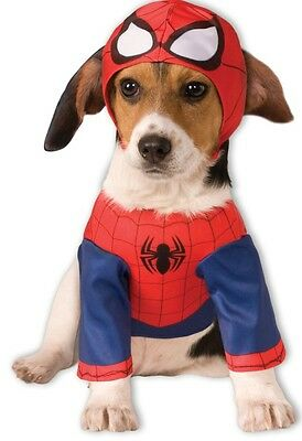 Offiziell Haustier Hund Katze Spiderman Superhelden Halloween Kostüm - Hund Spiderman Kostüme