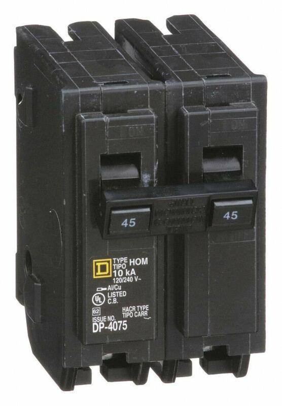 HOM245 - Square D Circuit Breakers