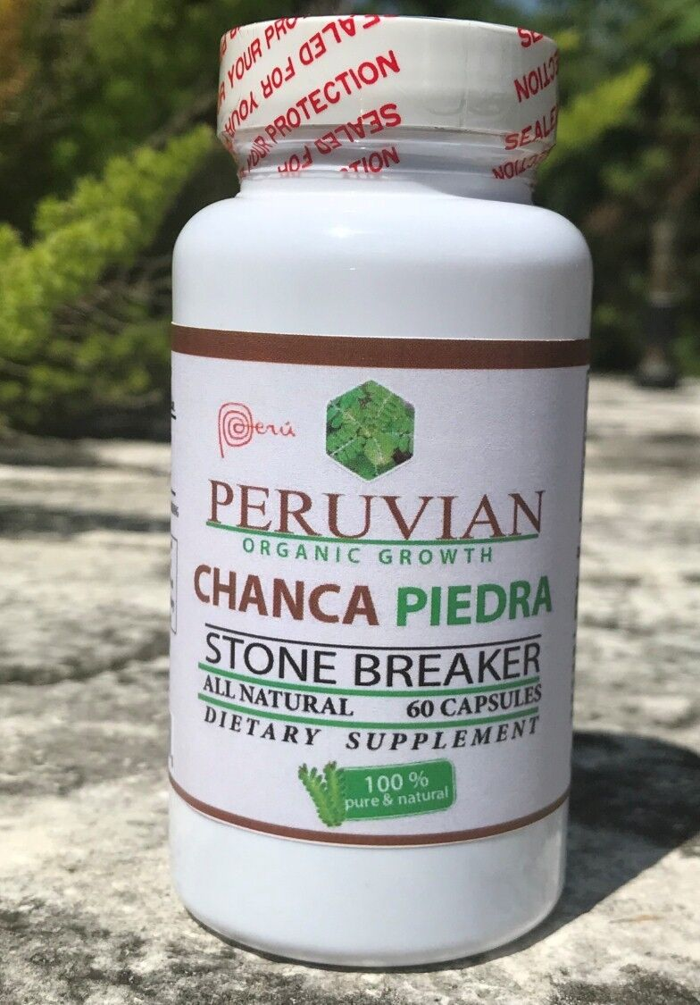 Stone Breaker Chanca Piedra Dissolver Cleanse Fight Kidney Gallbladder Pain fast 3