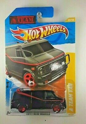 HOT WHEELS 2011 NEW MODELS THE A TEAM GMC VAN