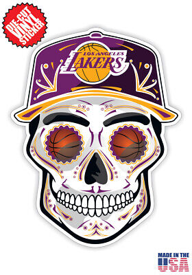 Los Angeles Lakers Hat Sticker Pack! 4 Stickers Included! Up to 40% OFF