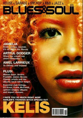 Blues & Soul Magazine 2000    Kelis    Jamelia    Artful Dodger    Amel Larrieux
