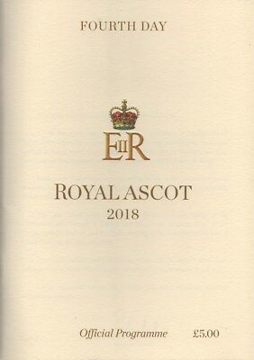 Race Cards: Royal Ascot 22 June 2018 - 4th Day Coronation Stakes