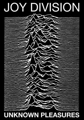 JOY DIVISION UNKNOWN PLEASURES POSTER PRINT 24x36 NEW FREE SHIPPING