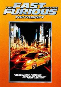 THE FAST AND THE FURIOUS - TOKYO DRIFT - NEW DVD - SHIPS FREE IN US W/TRACKING