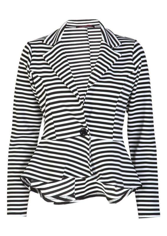 Mens White And Black Striped Shirt