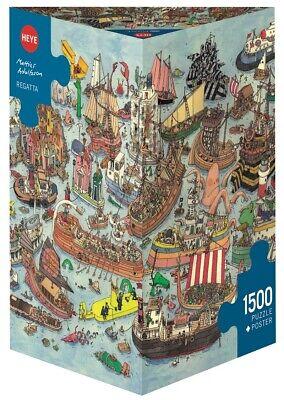 MATTIAS ADOLFSSON - REGATTA - Heye Puzzle 29891 - 1500 Pcs.