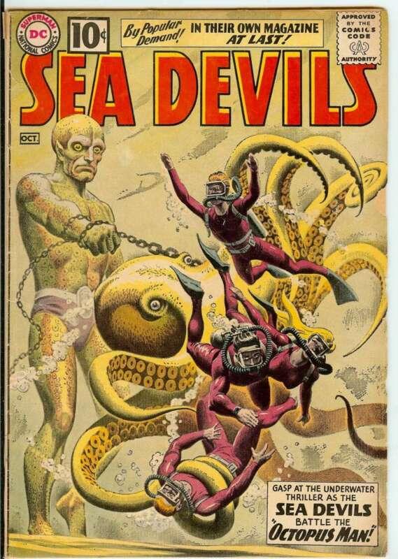 SEA DEVILS #1 4.0