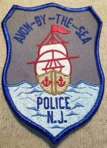 NJ Avon-By-The-Sea New Jersey Police Patch