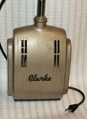 Vintage 1950s-60s Clarke Sp Electric Floor Polisher 6 Brush Works Compact