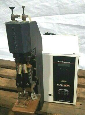 Hanson Weld Sequencer Series 2000 Resistance Welding Soldering Machine