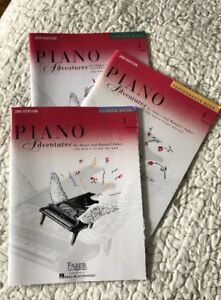 Piano Adventures by Nancy and Randall Faber