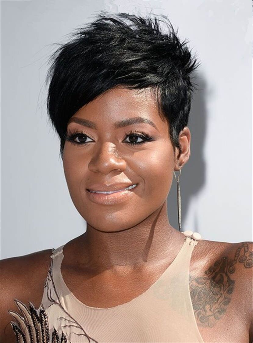 Fantasia Barrino Short Boy Cut Layered Pixie Synthetic Hair Capless Cap Wigs Ebay