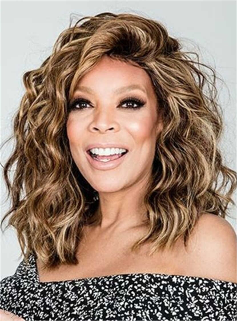 Details about Wendy Williams Medium Messy Loose Curly Hair Wigs e56363360a