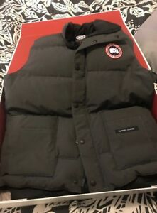 BUYING a Canada Goose Vest M