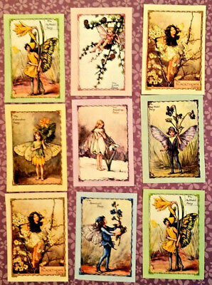 9 Fairy Fantasy~Pocket Pen Pal~No Protector~Scrapbooking~Card Making Crafts