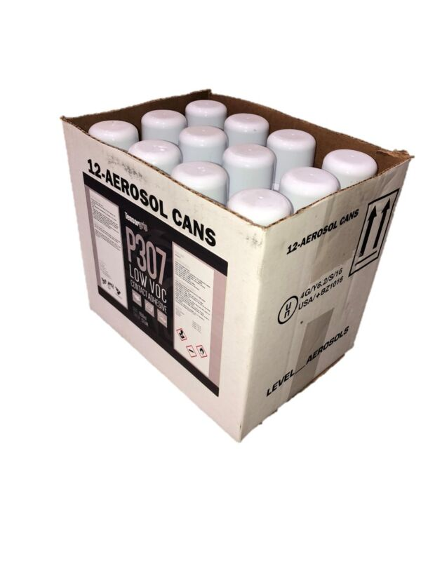 TensorGrip P307 Low Voc Contact Adhesive - CA Compliant - Case of 12  650ml Cans
