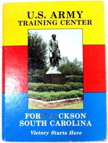 VTG Fort Jackson South Carolina U.S. Army Training Center Yearbook Signed 1984