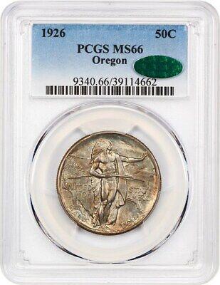 1926 Oregon 50c PCGS/CAC MS66 - Silver Classic Commemorative