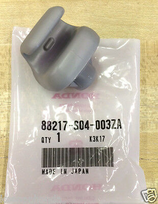 Genuine OEM Honda Gray Sunvisor Clip   One 1