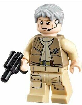 Authentic LEGO Star Wars General Airen Cracken Minifigure sw557 75050 Rebel