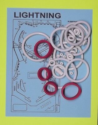 1981 Stern Lightning pinball rubber ring (1981 Stern)