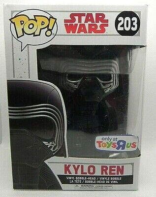 FUNKO POP STAR WARS 203 Kylo Ren Toys R Us Exclusive Brand New