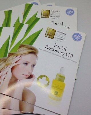NEW EMINENCE FACIAL RECOVERY OIL 6 SAMPLE PACKS ORGANIC