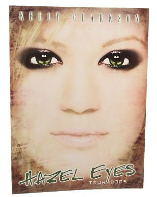 Kelly Clarkson Hazel Eyes Tour 2005 Tour Book New Official Mint Condition NOS