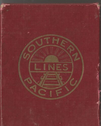 Southern Pacific Lines Daylight Playing Cards 1943
