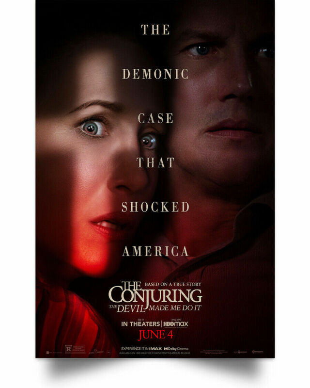 The Conjuring- The Devil Made Me Do It Wall Art Print - POSTER 24x36