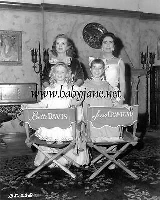 006 BETTE DAVIS JOAN CRAWFORD JULIE ALLRELD GINA GILLESPIE BABY JANE PHOTO