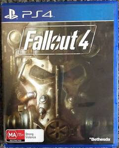 Fallout 4 PS4 - As New Condition. Glen Waverley Monash Area Preview