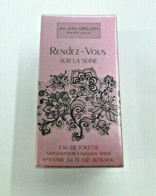 Alain Delon Rendez Vous Sur La Seine Perfume de Mujer Eau Toilette...