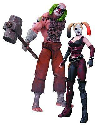 Batman Arkham City Mr. Hammer and Harley Quinn Action Figure 2-Pack SEALED