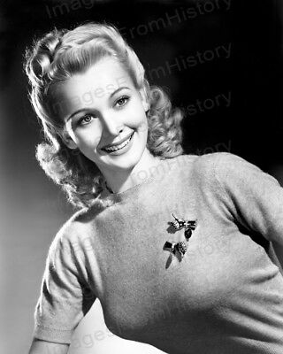 8x10 Print Carole Landis Beautiful Portrait #5502566