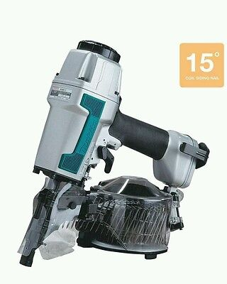 New Makita An611 2 12 In. 15 Degree Siding Coil Nailer Air Nail Gun