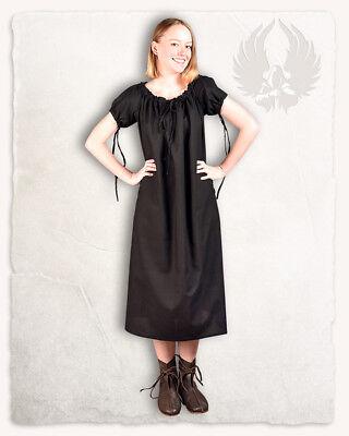 Ursula Unterkleid leichte Baumwolle schwarz XLLARP  (2-AA0504 links)