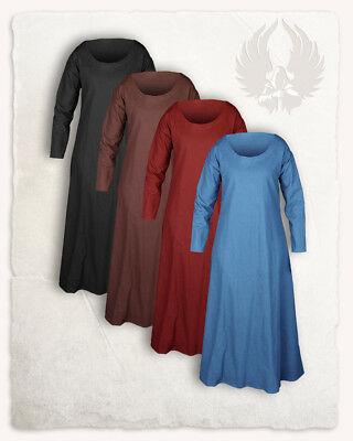 Lenora Frauentunika Premium Baumwolle hellblau LLARP Mittela (2-AC0403 links)