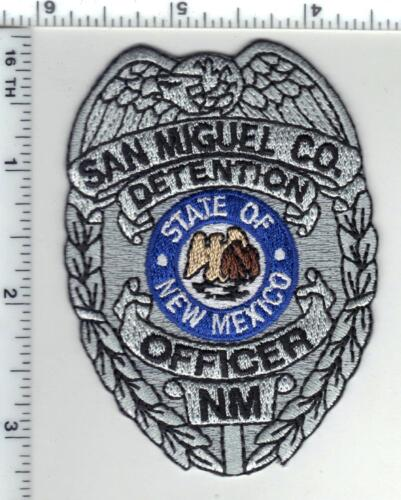 San Miguel County Detention Officer (New Mexico) Shirt/Jacket Patch 1980