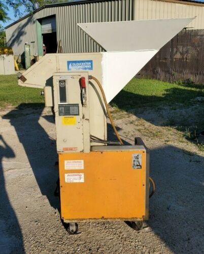 7.5 Hp Gloucester Engineering Model #1012BP Plastic Granulator 10